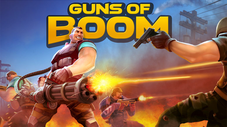 Релиз Guns of Boom – мобильной Team Fortress