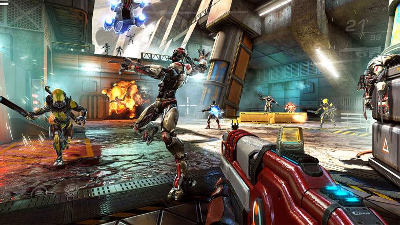 Новое видео «Shadowgun Legends» – демонстрация кооперативного режима игры