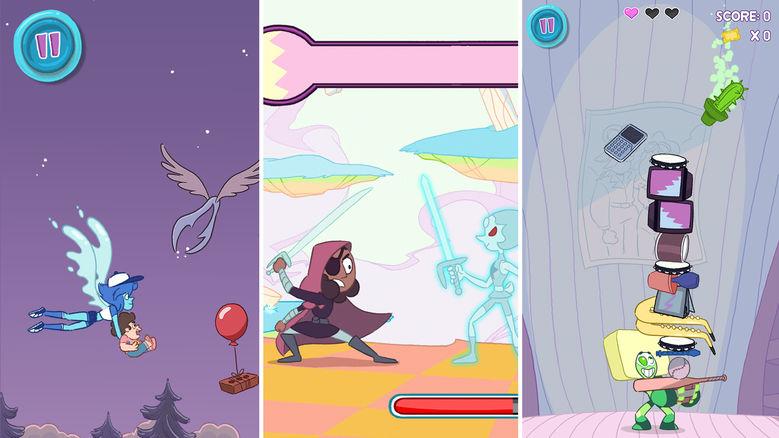 «Steven Universe: Dreamland Arcade»: мы – самоцветы!