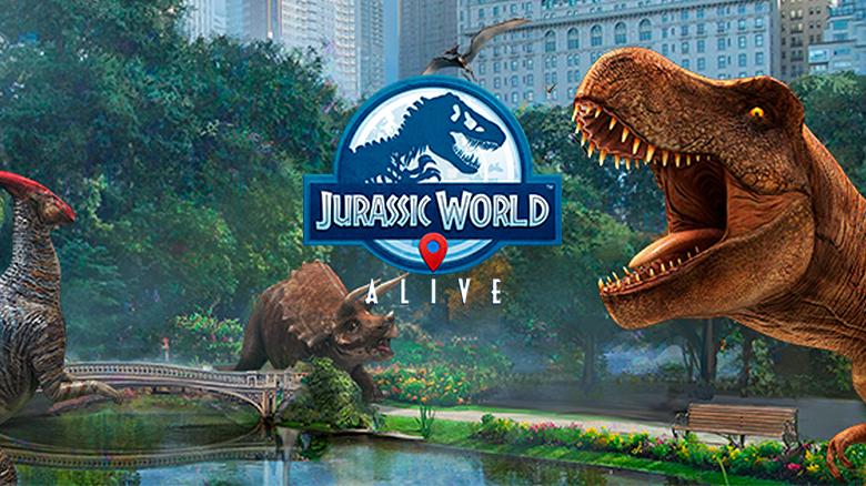 AR-игра «Jurassic World™ Alive» вышла в канадском AppStore [софт-запуск]