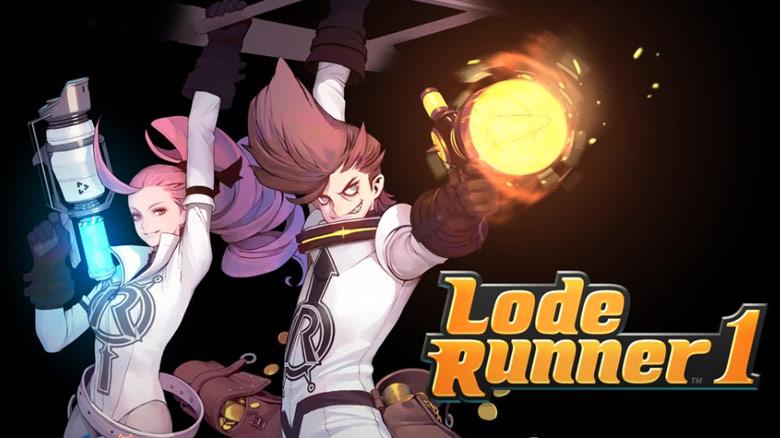 «Lode Runner 1» – ремейк классического аркадного пазлера 90-x