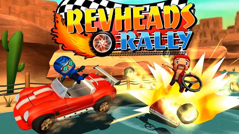 «Rev Heads Rally» — безбашенный картинг от создателей серии «Faily Brakes»
