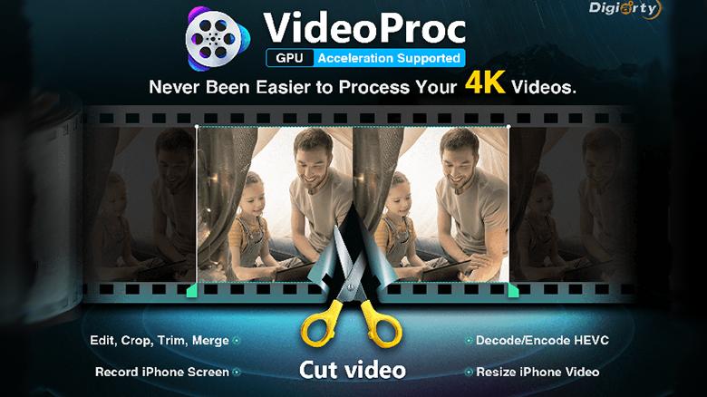 «VideoProc»: быстрый и удобный конвертер для работы с видео iPhone (+шанс выиграть iPhone XS)
