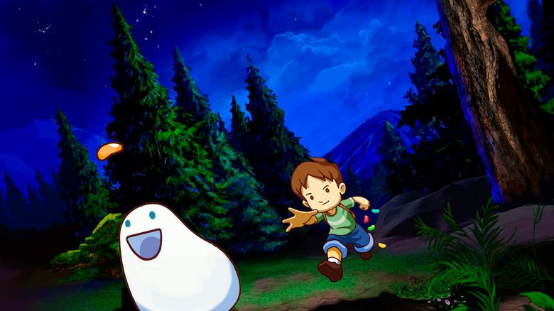 «A Boy and His Blob»: лопаем конфеты и спасаем мир!