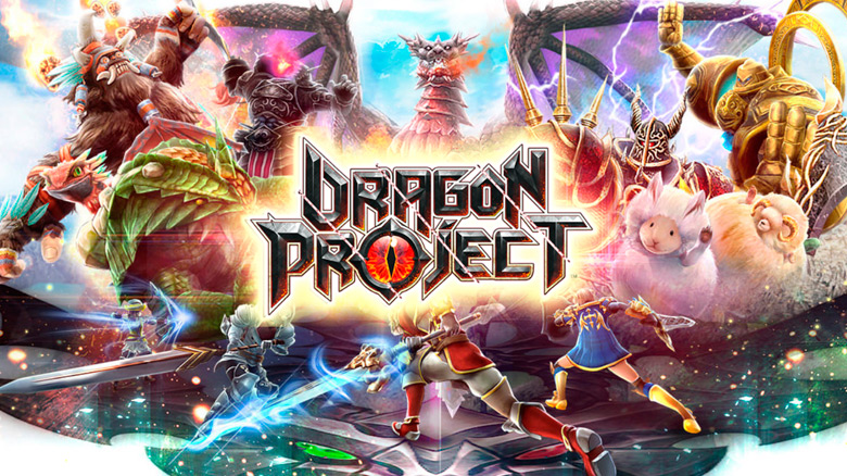 «Dragon Project» — красивая кооперативная ARPG