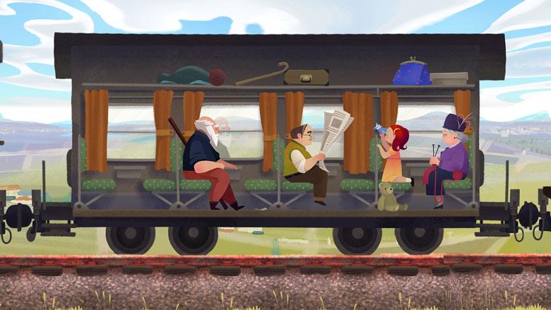 Красочный адвенчур о переоценке ценностей в жизни пожилого человека «Old Man's Journey»