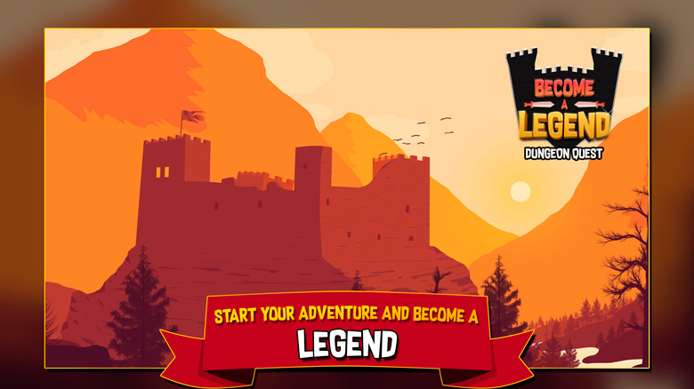 Релиз rogue-like «Become A Legend» в духе «Rogue Legacy»