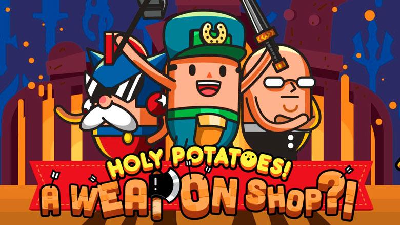 «Holy Potatoes! A Weapon Shop?!» – тяжелые будни кузнецов