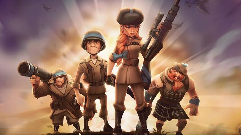 Софт-запуск стратегии с элементами ККИ «Medals Of War»