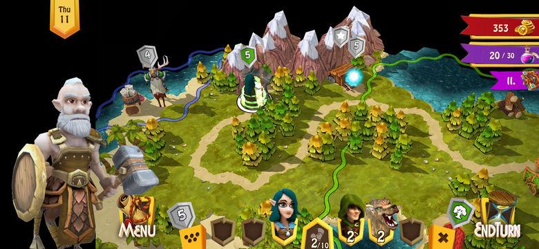 «Heroes Of Flatlandia» – необычная игра в стиле «HoMM»