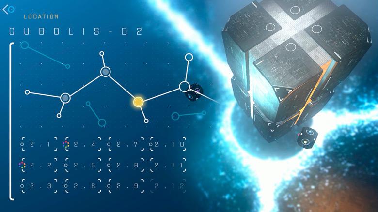 «Cubeus» – футуристическая головоломка, в которой куб спасает планету