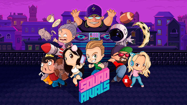 «Squad Rivals» – змейка со звёздами YouTube