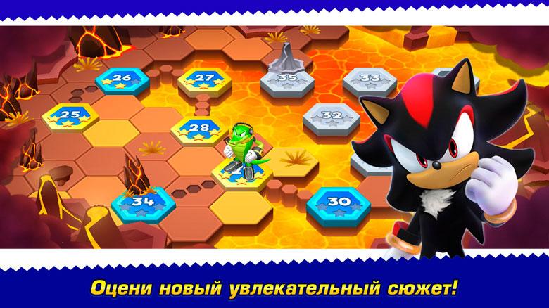 «Sonic Runners Adventure» – новый раннер про суперёжика от Gameloft