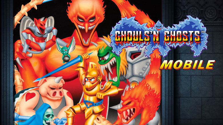 CAPCOM портировали на iOS и Android платформер Ghouls'n Ghosts MOBILE.