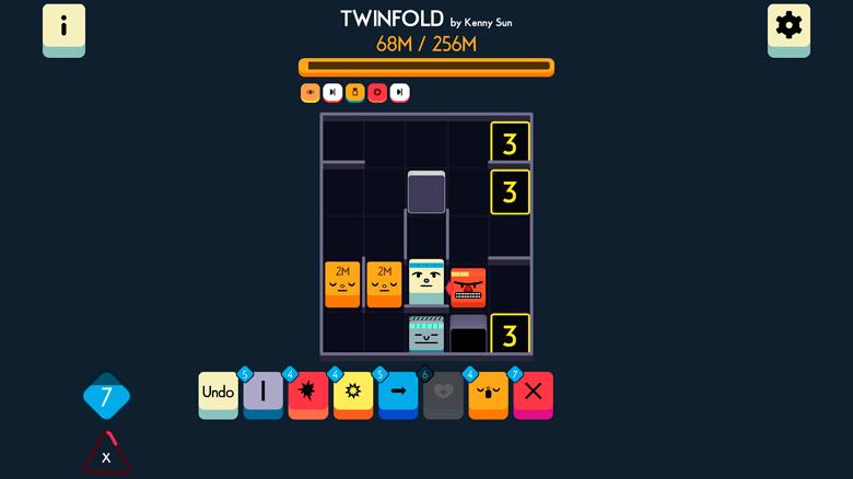 «Twinfold» – необычная головоломка от создателя «Yankai's Peak»
