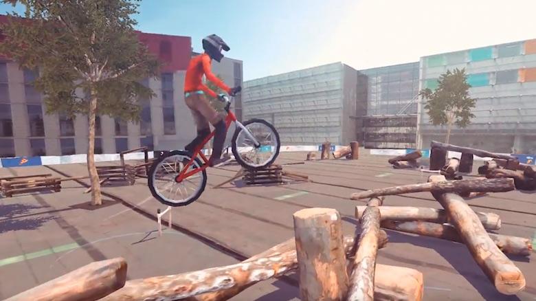 Появилось видео игрового процесса симулятора трюков на велосипедах «Pedal Up»