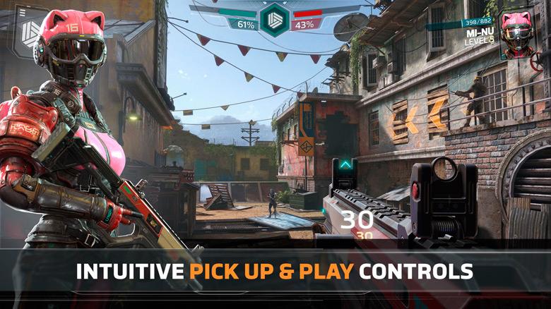 Мировой релиз FPS «Modern Combat Versus» для iOS и Android состоится уже на этой неделе