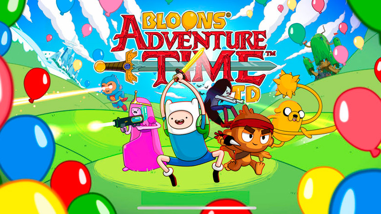 «Bloons Adventure Time TD» – новая беда в землях Ооо