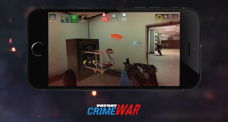 Видео игрового процесса «Payday: Crime War»