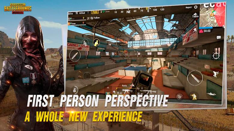 Очередное обновление «PUBG Mobile» подарило игрокам вид от первого лица и много чего ещё