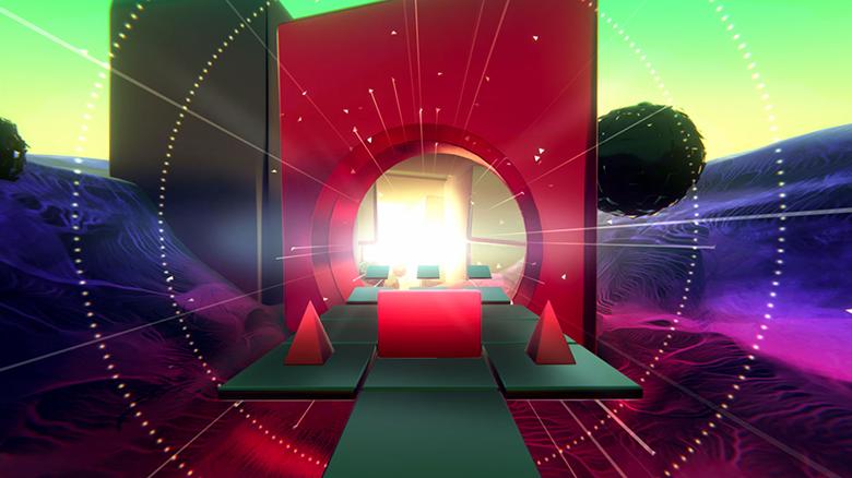 «Glitch Dash»: пробежка по удивительному абстрактному миру