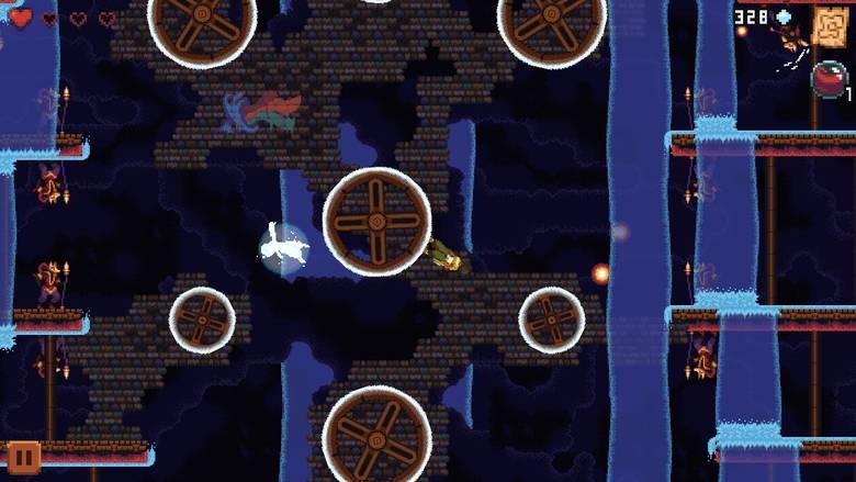 «Dandara» – метроидвания вверх тормашками
