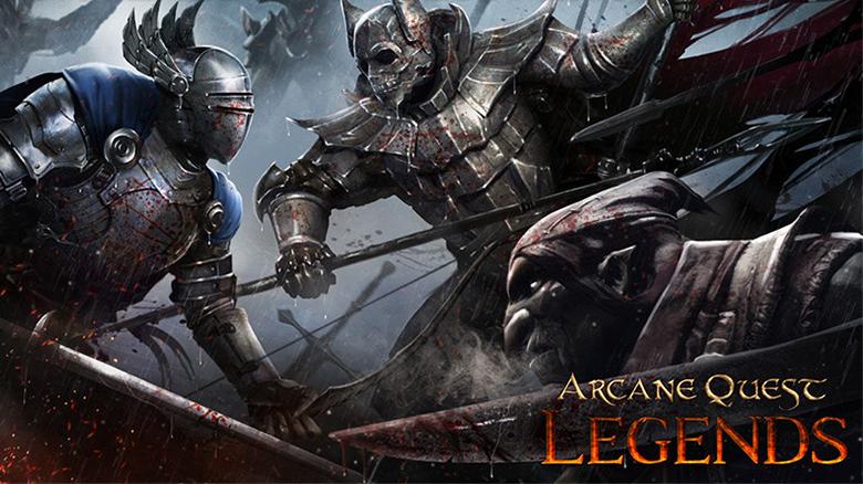 Анонсирован спин-офф серии игр «Arcane Quest» под заголовком «Legends» и это action-RPG
