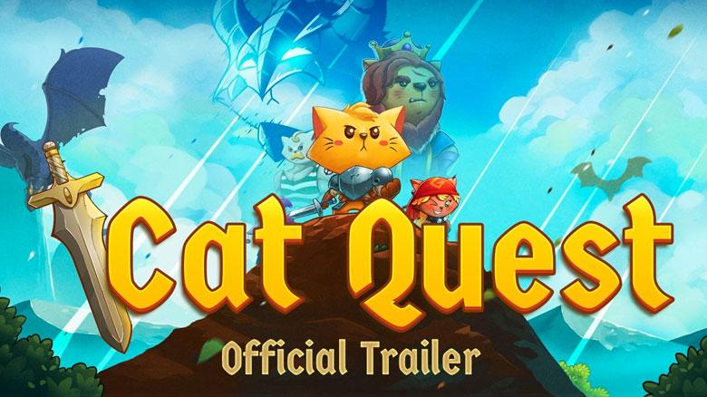 Новое видео геймплея «Cat Quest», RPG с открытым миром про котиков