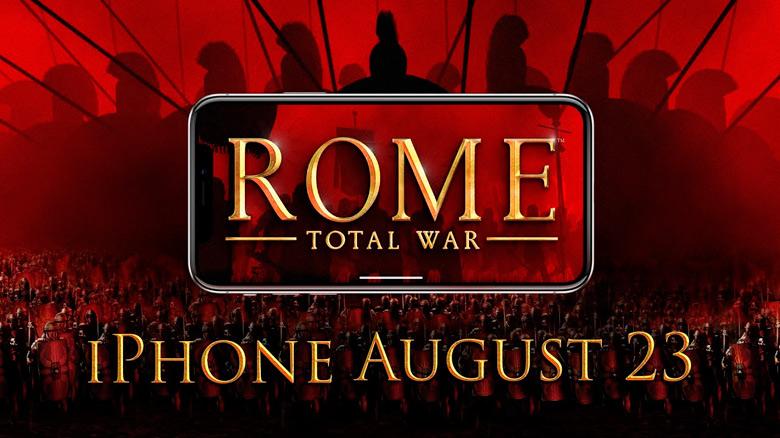 «ROME: Total War» для iPhone: постройте Римскую империю у себя на телефонах
