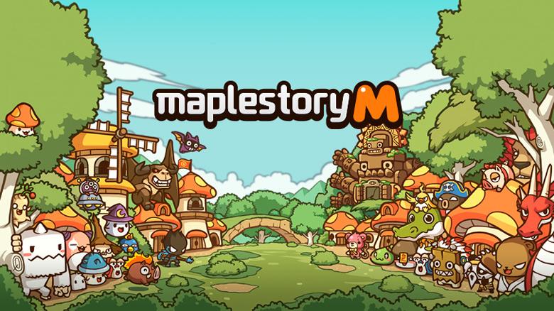 MMORPG с видом сбоку «MapleStory M» скоро появится во всем мире [предварительная регистрация]