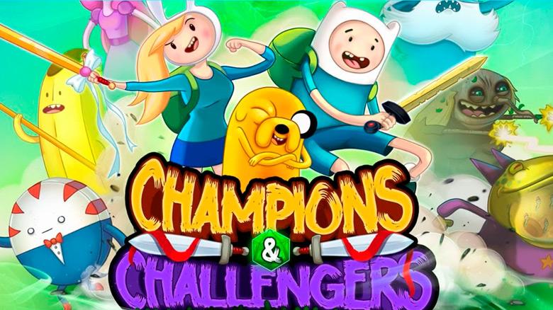 Спасите Земли Ооо этой осенью в «Champions & Challengers – Adventure Time»