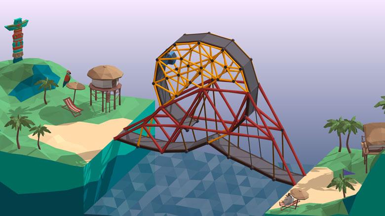 Poly Bridge: время строить мосты!