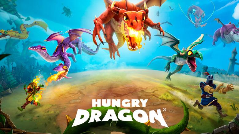 «Hungry Dragon» от Ubisoft — фэнтезийная аркада про драконов, которые постоянно хотят есть! [софт-запуск]