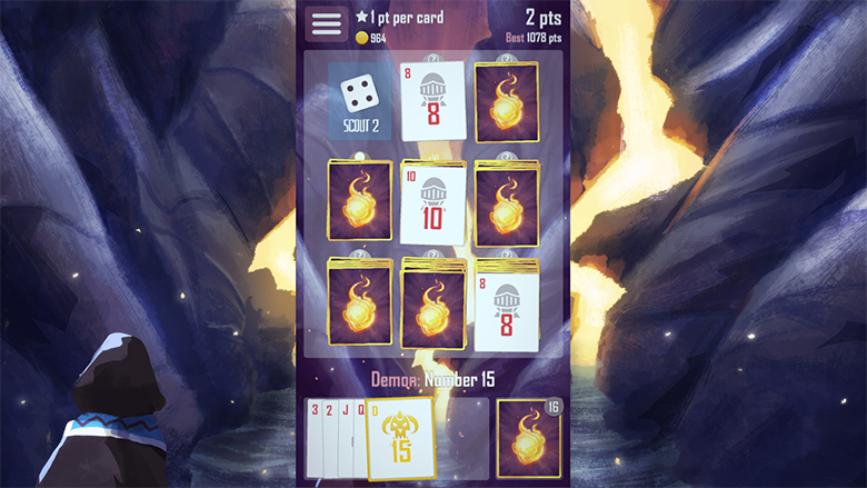 «Brave Hand» — карточная игра с очень красивым оформлением и уникальным геймплеем