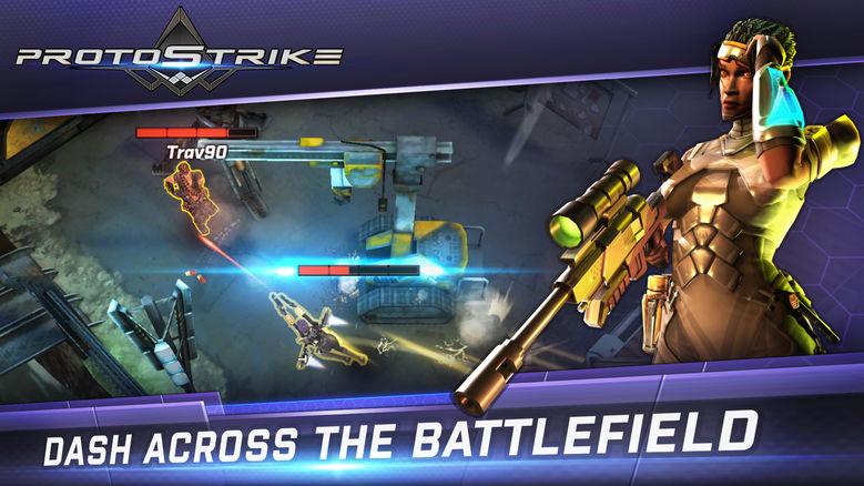«Protostrike»: многопользовательский top-down шутер, где вас научат убивать незамедлительно [софт-запуск]