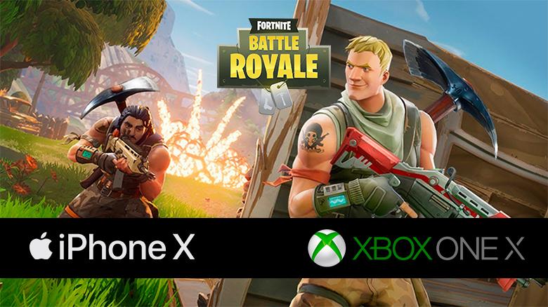 Давид и Голиаф: сравнение производительности и графики «Fortnite» на iPhone X и Xbox One X