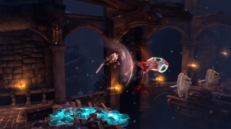 «Grimvalor», эффектный hack'n'slash платформер от создателей «Swordigo», готовится к выходу осенью