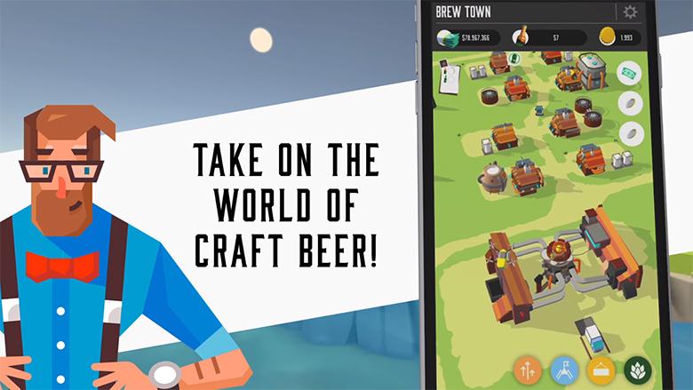 Откройте свою пивоварню в «Brew Town»