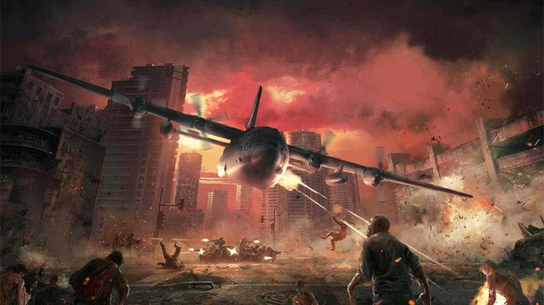 Состоялся релиз симулятора истребления зомби Zombie Gunship Survival. Игра уже в ТОПе App Store