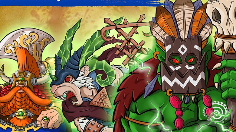 «Doomwheel» — раннер по вселенной Warhammer. Постройте своё Колесо Рока!