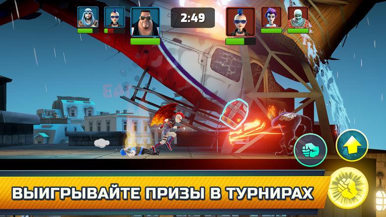 «Mayhem Combat» — аренный файтинг от Vivid Games: кулаки против огня