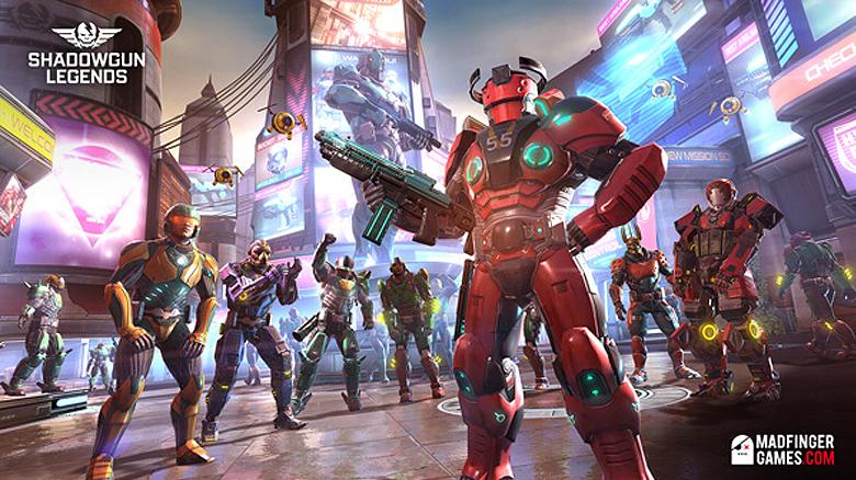 «Shadowgun Legends» от Madfinger Games выйдет 22 марта