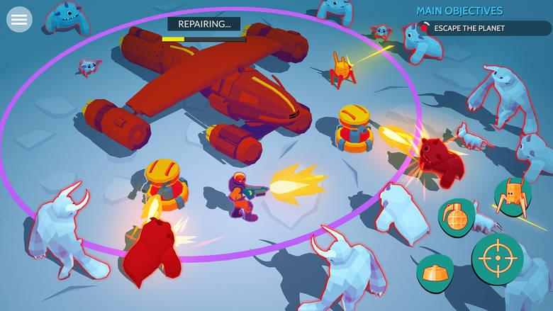 «Space Pioneer», шутер с видом сверху от Vivid Games, готовится к мировому релизу