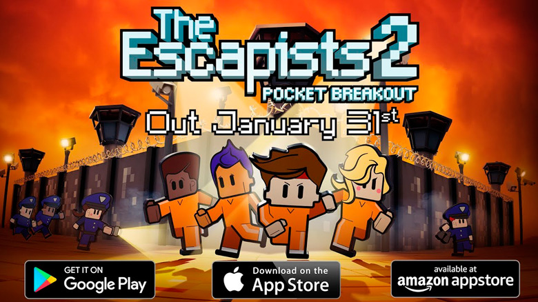 «The Escapists 2: Pocket Breakout» появится на iOS в конце января [предзаказ]