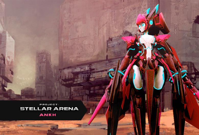 Стартует закрытый бета-тест «Stella Arena»: мехи в бой!