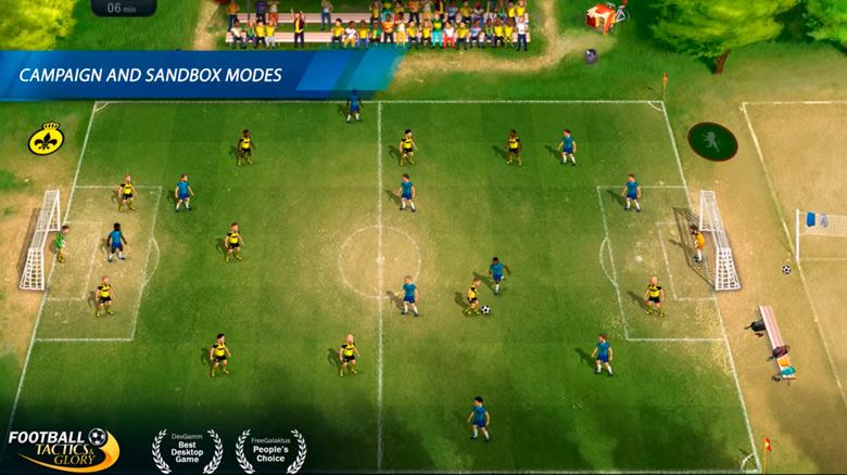 Футбольный менеджер «Football, Tactics & Glory» от Creoteam будет портирован на iOS