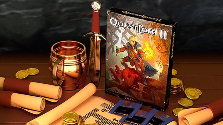 Продолжение олдскульной RPG «QuestLord 2» выйдет на следующей неделе