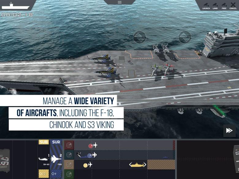 Встаньте во главе авианосца в Carrier Deck от Slitherine