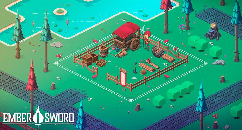 «Ember Sword»: So Couch Studios анонсировала кроссплатформенную MMORPG с элементами песочницы