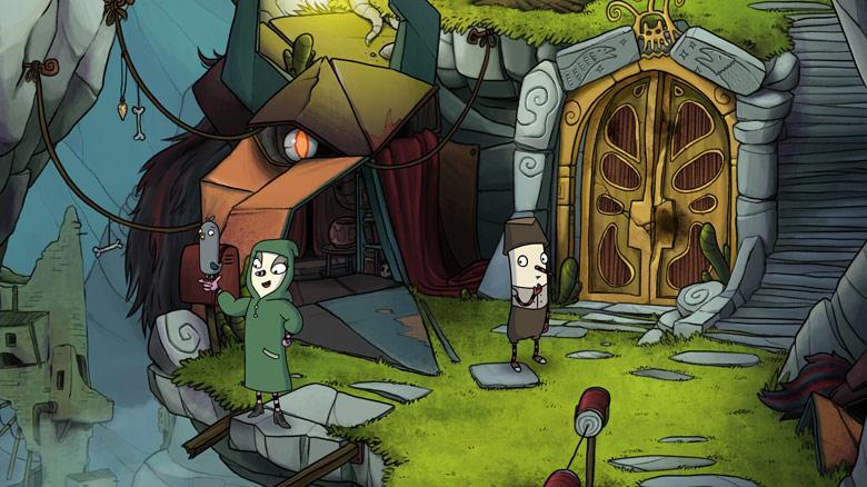 В свете скорого релиза на PC, выпущен новый трейлер адвенчура «The Inner World — The Last Wind Monk»